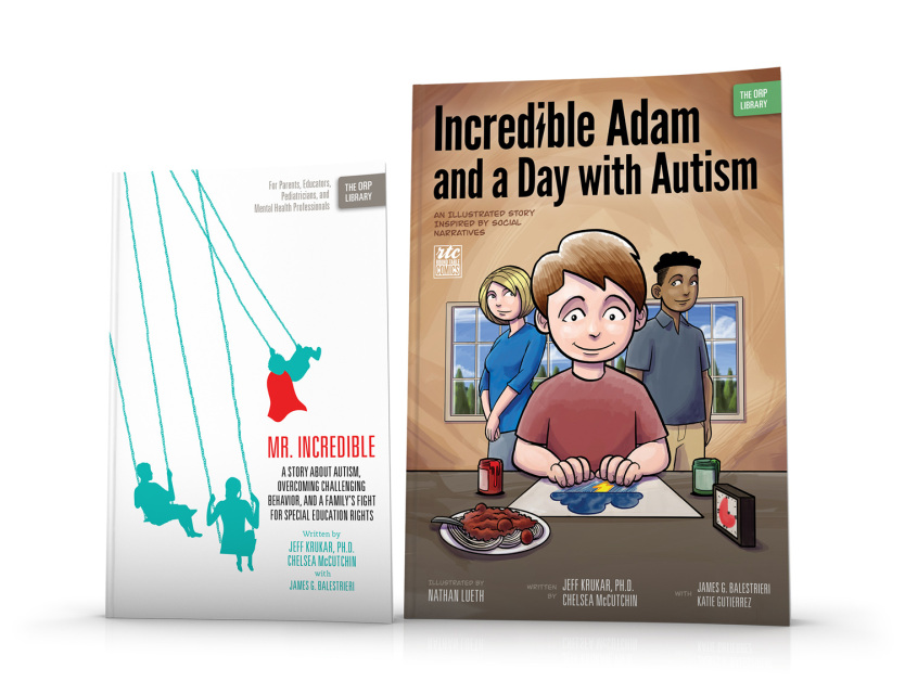 Mr. Incredible and Incredible Adam (Autism)