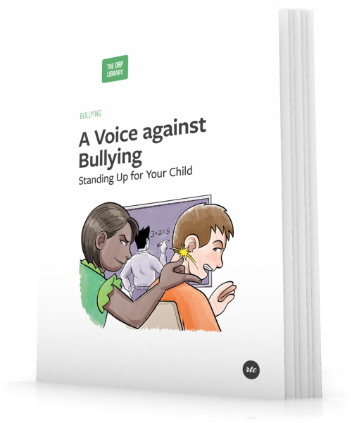 """A Voice Against Bullying: Standing Up For Your Child"""
