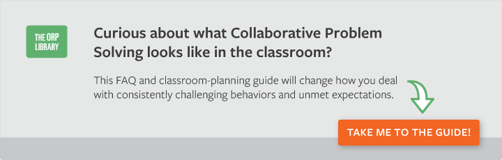 Using Collaborative Problem Solving in the Classroom